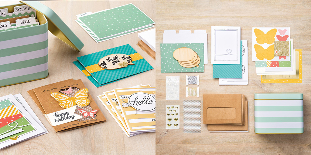 Tin Box Card Kit