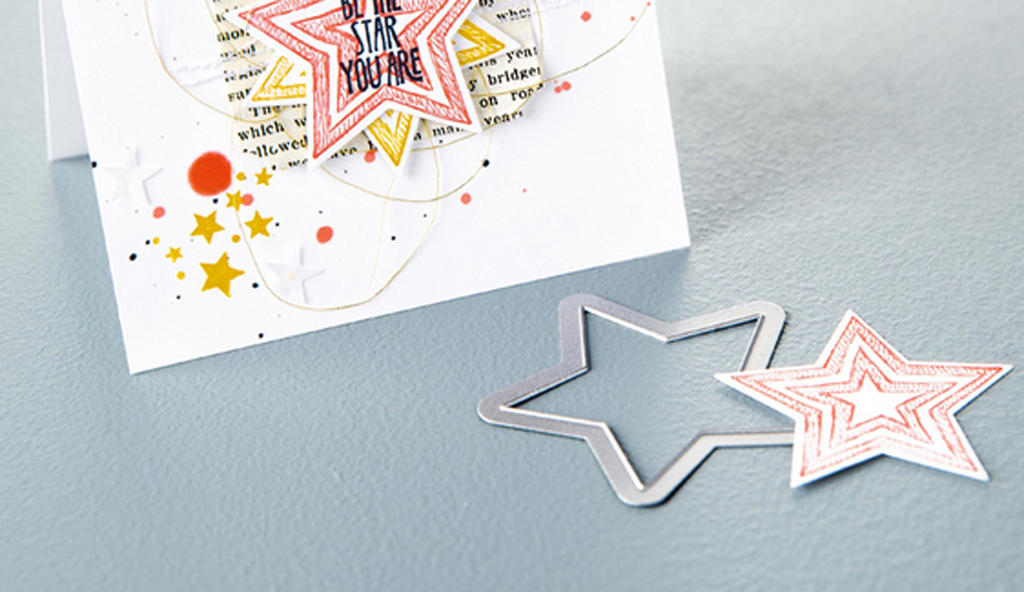 Stars Framelits Dies by Stampin  Up