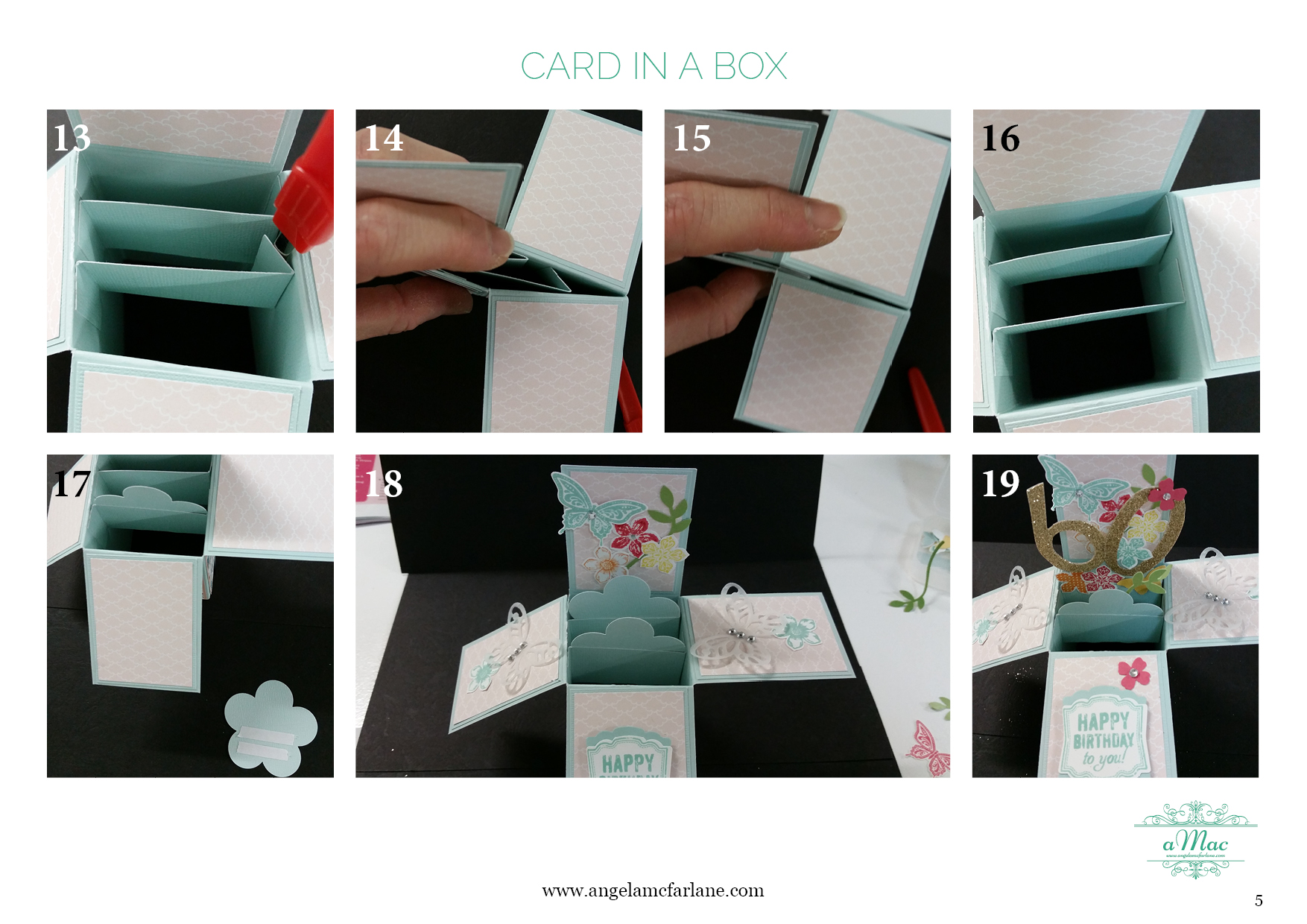 Card In A Box Instructions5