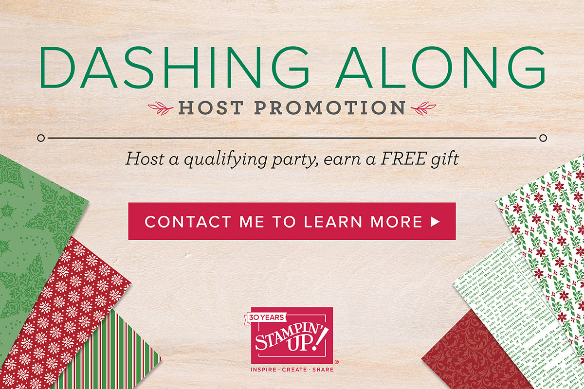 Dashing Along Host Promotion | Stamping with aMac